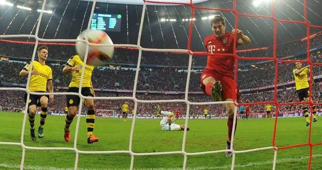 Bayern Münih, Dortmund'u 5 golle geçti