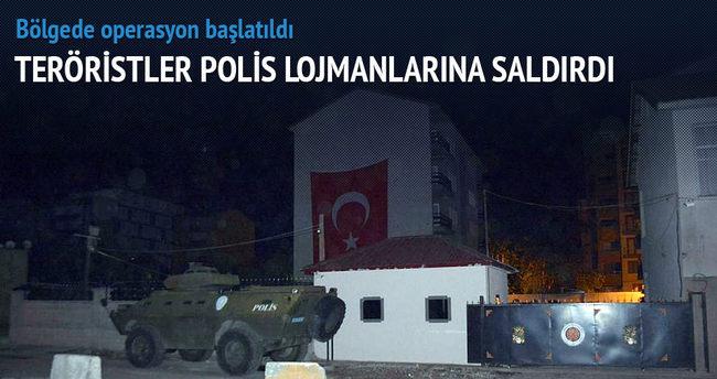 Bitlis'te polis lojmanlarına saldırı