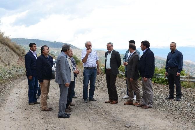 Vali Deniz, Ardahan- Posof İlçesinde Grup Köy Yollarını Denetledi