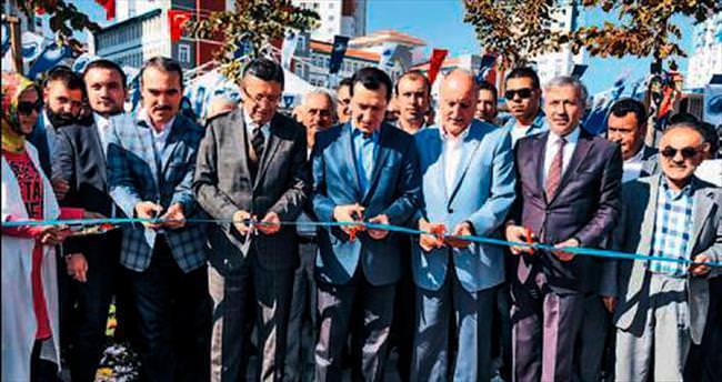 Altındağ'da 3 dev park daha hizmete açıldı
