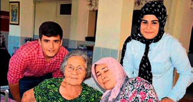 AK Partili gençler yaşlıları unutmadı