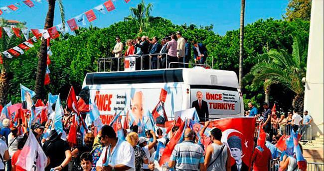 Kılıçdaroğlu Alanya'da hayal kırıklığı yaşadı