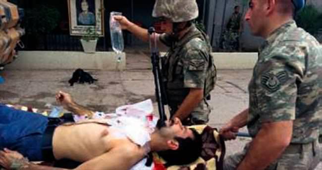 PKK vurdu asker kurtardı