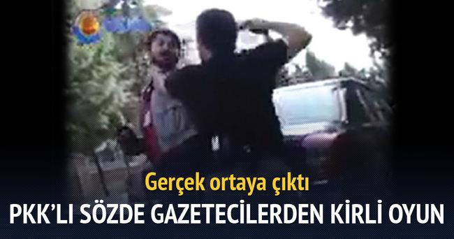 PKK'lı sözde gazetecilerden kirli oyun