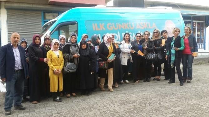 AK Partili Kadınlar İlçe Turunda