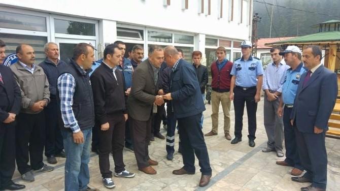 Azdavay Belediyesi İtfaiye Personelleri Ödüllendirildi