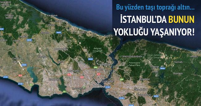 İSTANBUL'DA ARSA SIKINTISI YAŞANIYOR!