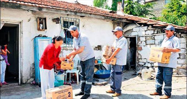 İhtiyaç sahiplerine gıda desteğine devam