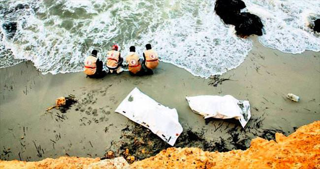 Libya kıyılarında insanlık trajedisi