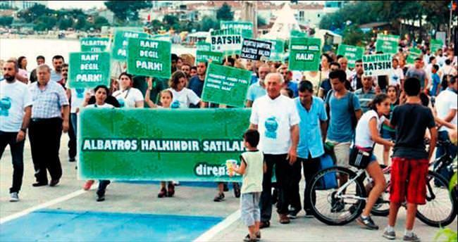 Çevreciler: Albatros'a otel yaptırmayacağız