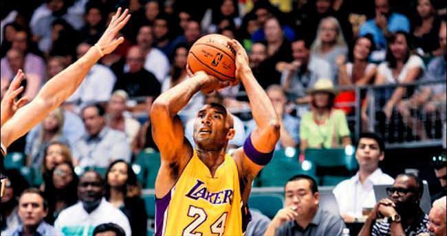 Kobe 5 sayıyla geri döndü