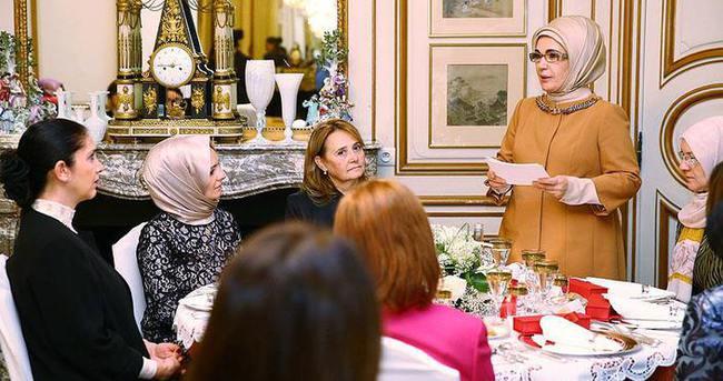 Emine Erdoğan: İslam'ın barış dini olduğunu dünyaya göstermeliyiz