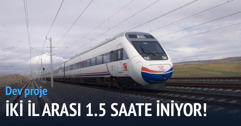 Süper hızlı tren geliyor