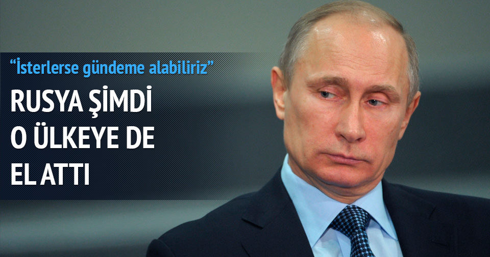 Rusya şimdi de Irak'a el attı