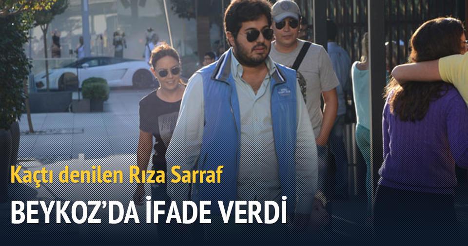 Kaçtı denilen Rıza Sarraf Beykoz'da ifade verdi