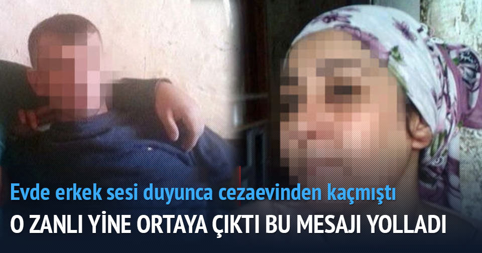 Adana'da firari koca yine ortaya çıktı