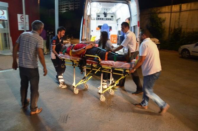 Kamyon Kasasından Düşen Şahıs Yaralandı