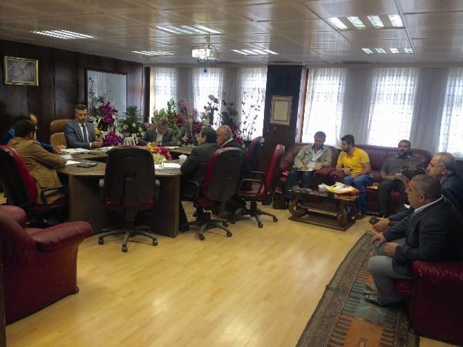 Muş Belediyesi, Odun Kömür İhalesini Yaptı