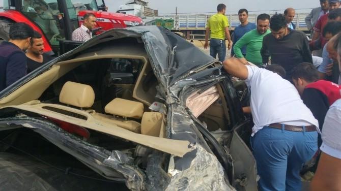 Van'da Trafik Kazası; 1 Ölü 2 Yaralı