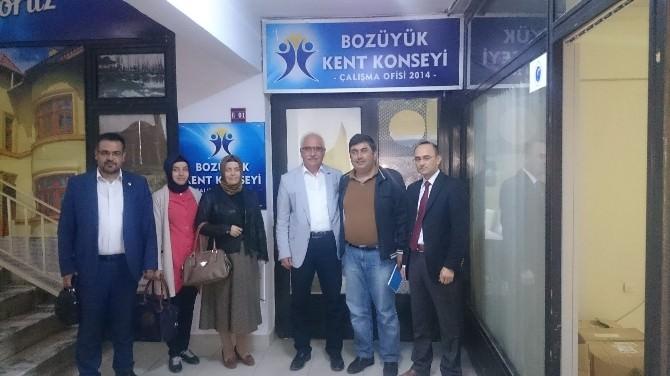 El Ele Gönül Gönüle Derneği'nden Bozüyük Kent Konseyi'ne Ziyaret