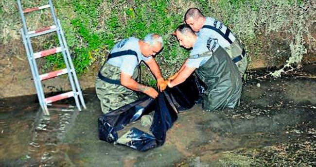 Sulama kanalında genç erkek cesedi