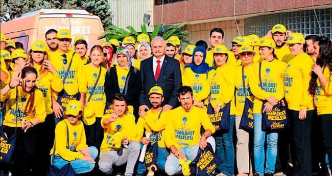Gönüllü ordusuyla İzmir'i dinleyecek