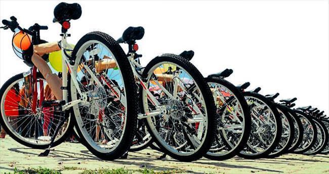 Kahramanmaraş'ta sağlık için bisiklet