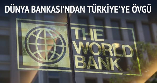 Dünya Bankası Türkiye'yi sağlıkta övdü