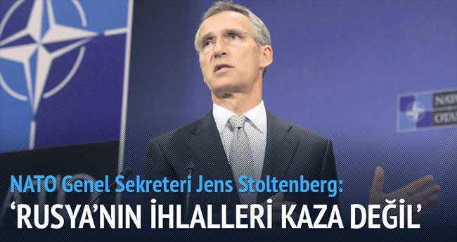 NATO: İhlaller kaza değil