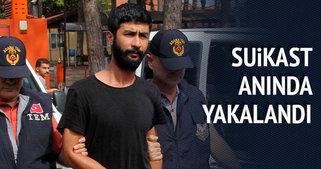 Suikast hazırlığında yakalanan terörist tutuklandı