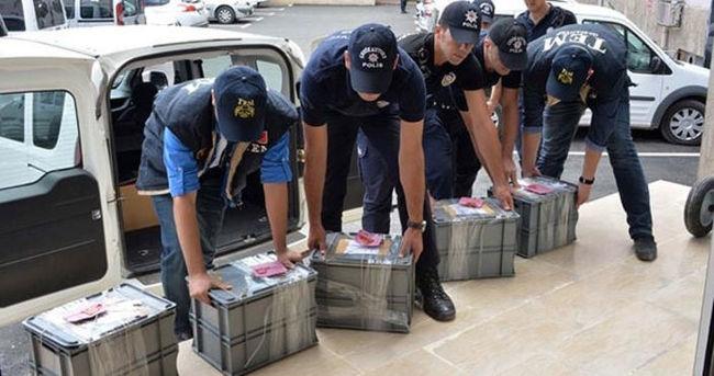Antep'te IŞİD'e ait para baskı kalıpları ele geçirildi