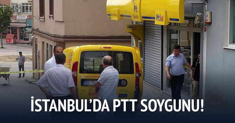 Bayrampaşa'da PTT Şubesi soygunu