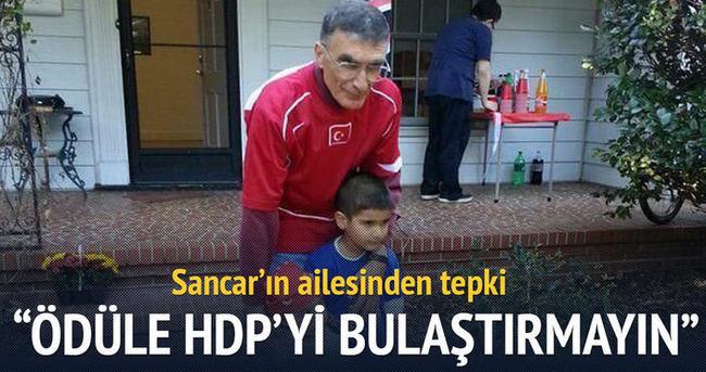 Ödüle HDP'yi bulaştırmayın