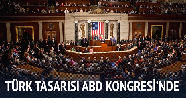 Türkiye tasarısı ABD Kongresi'nde