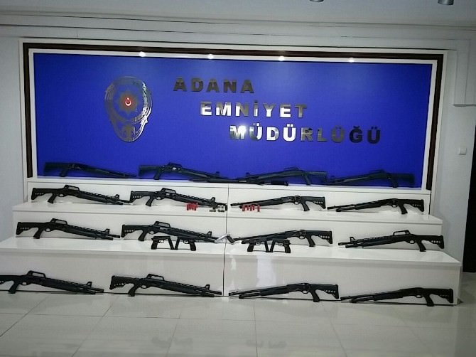 Adana'da Silah Operasyonu