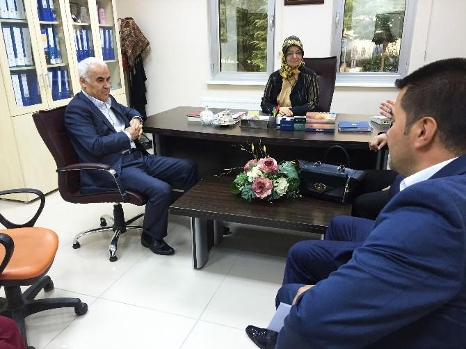 AK Partili Ceylan'dan, Pursaklar Belediyesi Hanım Evi Ziyareti