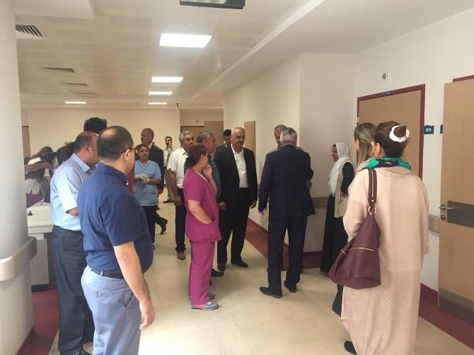 AK Partili Çelik'ten Hastalara Moral Ziyareti