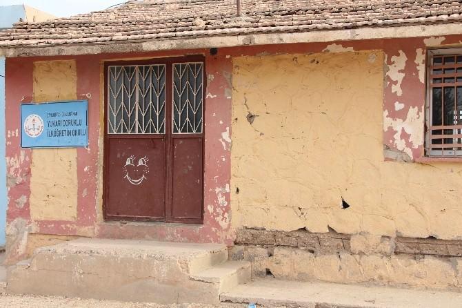 Ceylanpınar'daki Okulda Çökme Tehlikesi