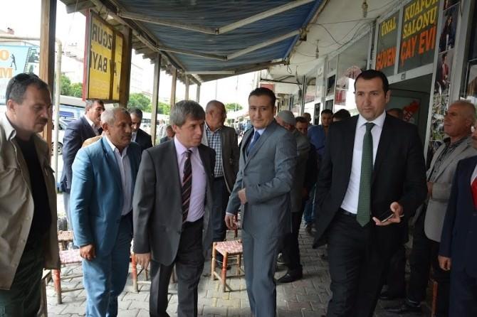 Vali Çınar'dan Güroymak İlçesine Ziyaret