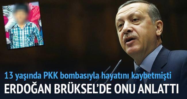 Erdoğan Brüksel'de Fırat Simpil'i anlattı