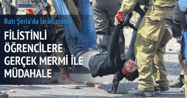 İsrail askerleri Filistinli öğrencileri vurdu