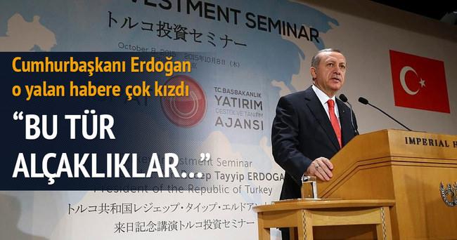 Erdoğan: Bunlar cibilliyeti bozuk insanlar
