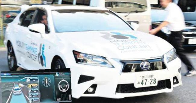 Bir sürücüsüz otomobil de Toyota'dan