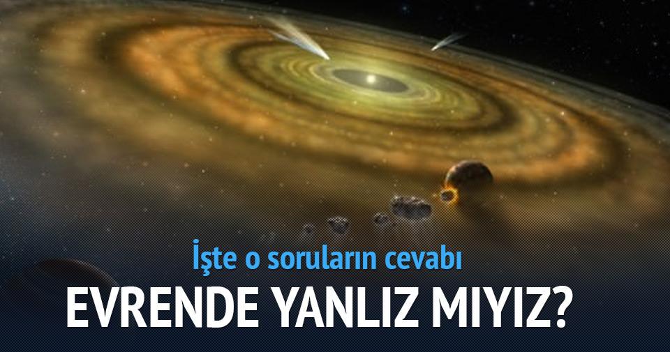 Evrende yalnız mıyız: NASA bugün açıklayacak!