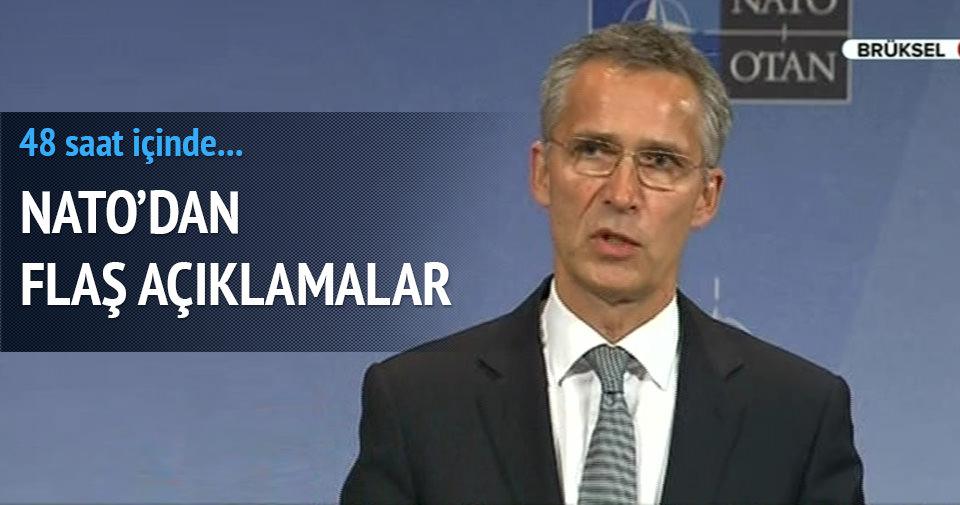 NATO'dan flaş açıklamalar