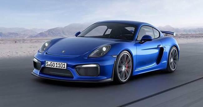Porsche Cayman GT4 piste çıkıyor