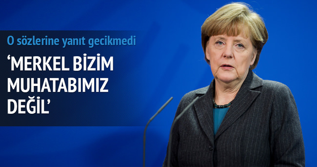 Merkel'in sözlerine AK Parti'den jet yanıt