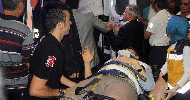 Fakıbaba trafik kazası geçirdi