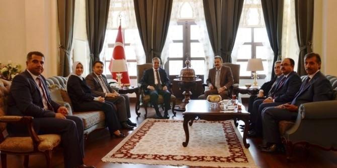Sağlık Bakanlığı Müsteşar Yardımcısı Şencan'dan Valiliği Ziyaret Etti