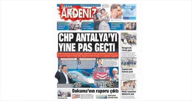CHP gündeminde Antalya yine yok